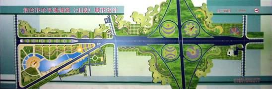 总体布局:   1,滨海东路三角地功能定位为休闲公园绿地.图片